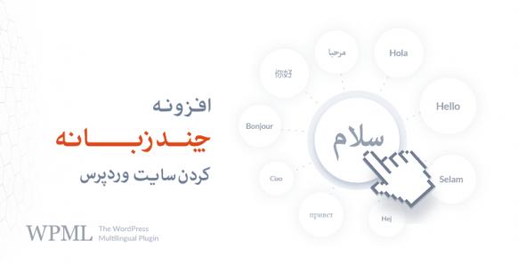 افزونه WPML فارسی   چند زبانه کردن سایت