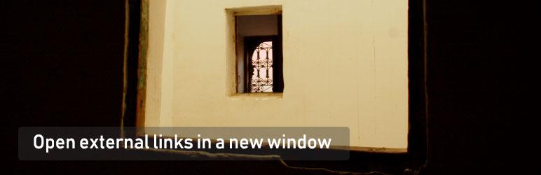 External Links in New Window / New Tab