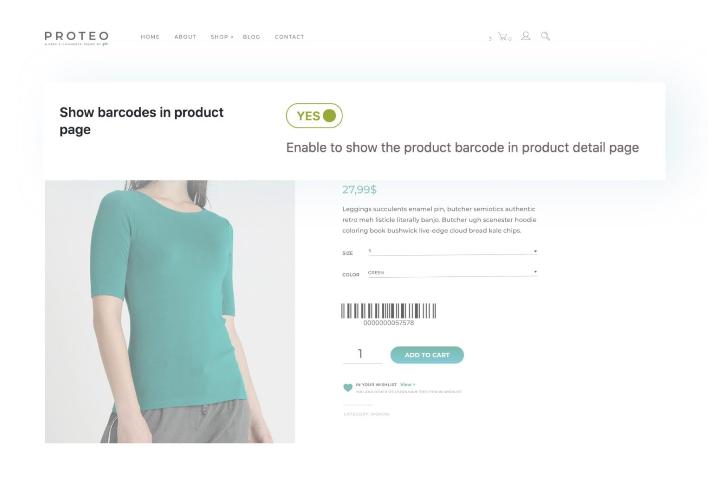 پلاگین بارکد و کد QR برای محصولات ووکامرس
